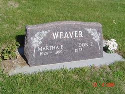 "Martha Elizabeth ""Bessie"" <I>Ives</I> Weaver"