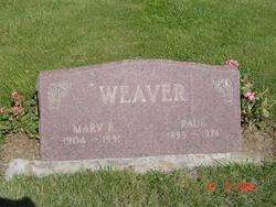 Mary Elizabeth <I>Barber</I> Weaver