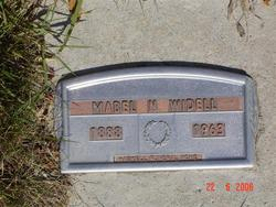 Mabel W Widell