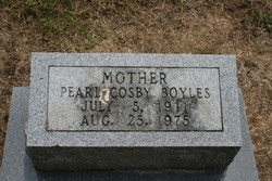 Pearl Blanche <I>Cosby</I> Boyles