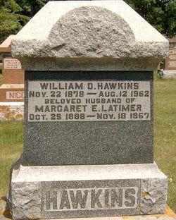 Margaret E. <I>Latimer</I> Hawkins