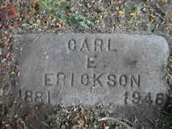 Carl E Erickson
