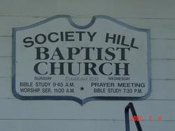 Society Hill Baptist Church Cemetery