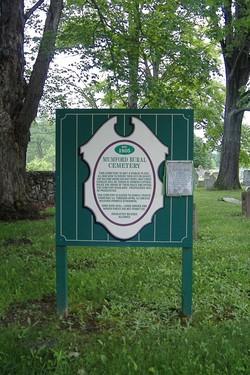 Mumford Rural Cemetery