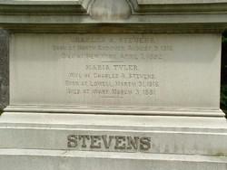 Maria <I>Tyler</I> Stevens