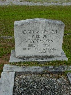 Adair Monroe <I>Taylor</I> Aiken