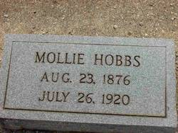 "Mary ""Mollie"" <I>Short</I> Hobbs"