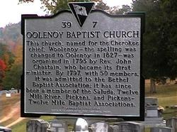 Oolenoy Baptist Church Cemetery