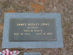 James Wesley Lowe, Sr