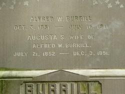 Augusta S <I>Cummings</I> Burrill