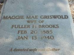 Maggie Mae <I>Griswold</I> Brooks