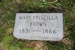Mary Priscilla <I>Kincheloe</I> Brown