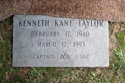 Capt Kenneth Kane Taylor