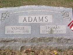 Pvt Truman Adams