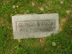 Georgia <I>Beecher</I> Baker