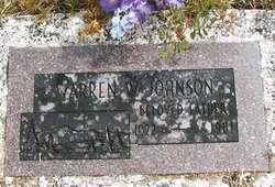 """Warren W """"Bud"""" Johnson"""