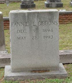 Fannie L. Gibbons