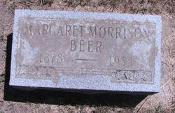 Margaret <I>Morrison</I> Beer