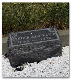 Cynthia R <I>Sartain</I> Brewster