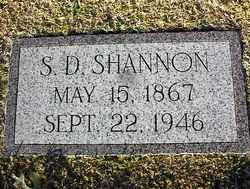 S D Shannon