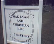 Oak Lawn and Christian Hill Cemetery