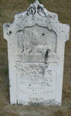 Abner C McDowell