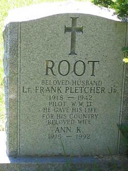 Ann K. <I>Root (?)</I> Pletcher