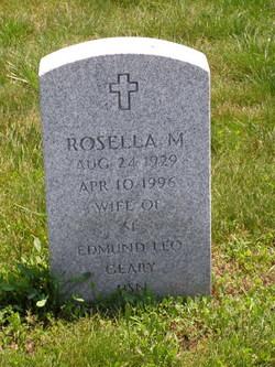 Rosella M <I>Lenevich</I> Geary