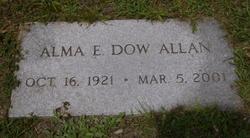 Alma E <I>Dow</I> Allan