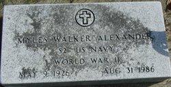 Myles Walker Alexander