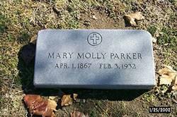 Mary Molly <I>Carr</I> Parker