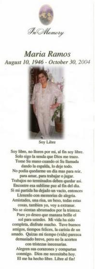 Maria <I>Arambula</I> Ramos