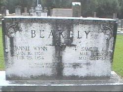 Fannie Keziah <I>Wynn</I> Blakely