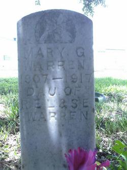 Mary G Warren