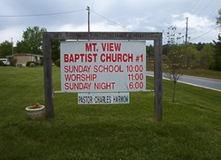 Mountain View Baptist Church #1 Cemetery in North Carolina ...