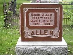 Maria <I>Van Horn</I> Allen