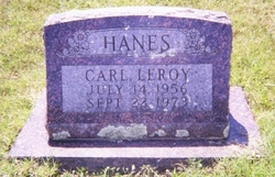 Carl Leroy Hanes