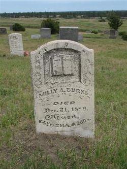 """Mildred Ann """"Milly"""" <I>Duncan</I> Burns"""
