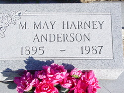Margaret May <I>Harney</I> Anderson