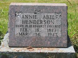 Annie Heloise <I>Abel</I> Henderson