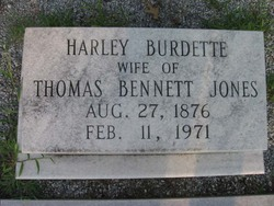 Harley Burdette Jones