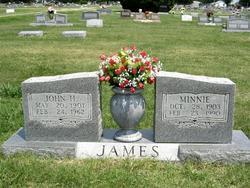 Minnie <I>Cowan</I> James