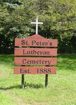 Saint Peters Evangelical Lutheran Cemetery
