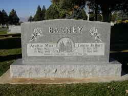 Louise <I>Ballard</I> Barney