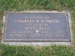 Charles W H Smith