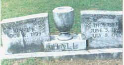 Minnie R. <I>Brewer</I> Hall