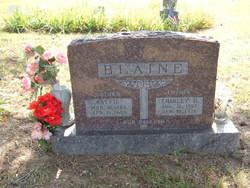 Mattie C <I>Foster</I> Blaine