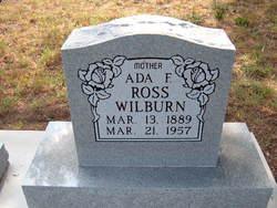 Ada F. <I>Ross</I> Wilburn
