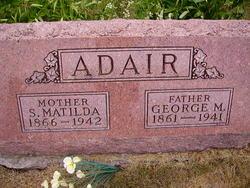 Sarah Matilda <I>Edwards</I> Adair