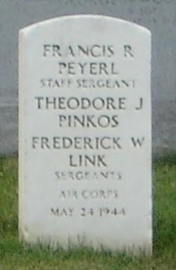 Sgt Theodore J Pinkos
